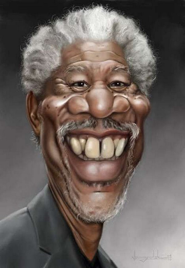 caricatures 03 Funny Caricatures of Celebrities by Patrick Strogulski