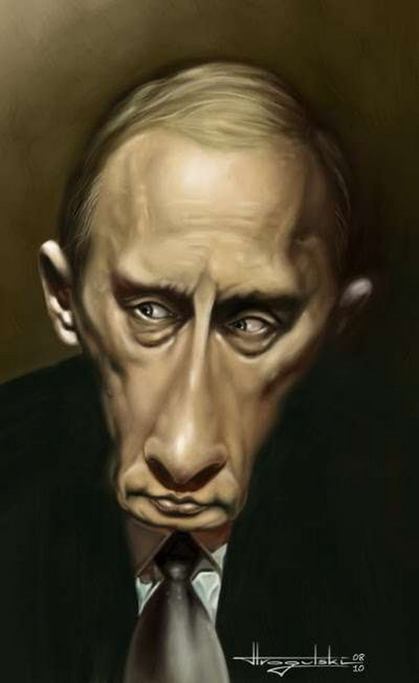 caricatures 04 Funny Caricatures of Celebrities by Patrick Strogulski