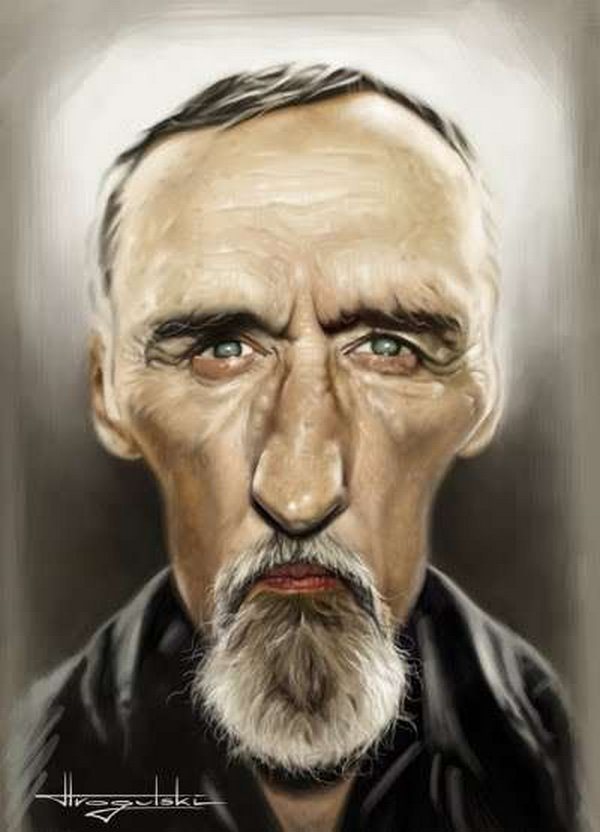 caricatures 05 Funny Caricatures of Celebrities by Patrick Strogulski