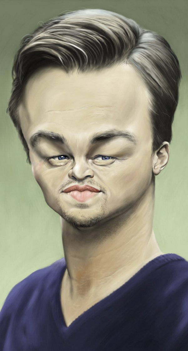 caricatures 07 Funny Caricatures of Celebrities by Patrick Strogulski