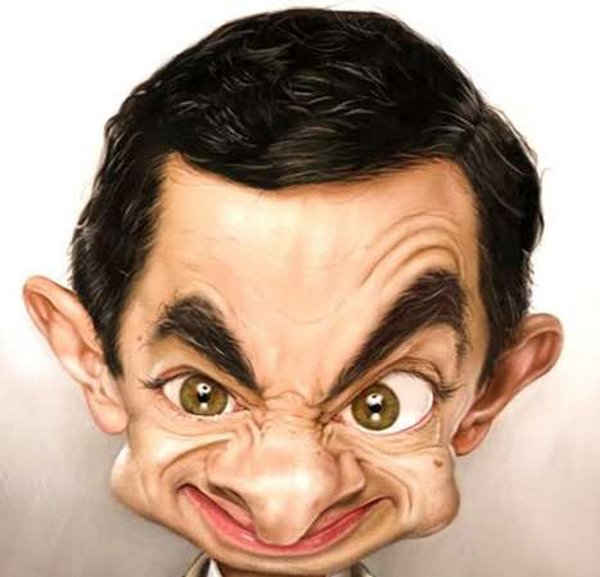 caricatures 08 Funny Caricatures of Celebrities by Patrick Strogulski