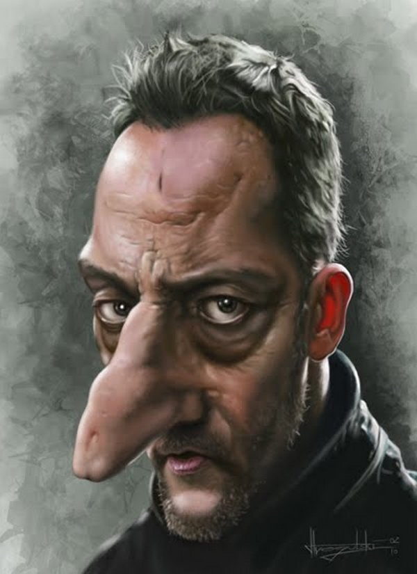 caricatures 10 Funny Caricatures of Celebrities by Patrick Strogulski