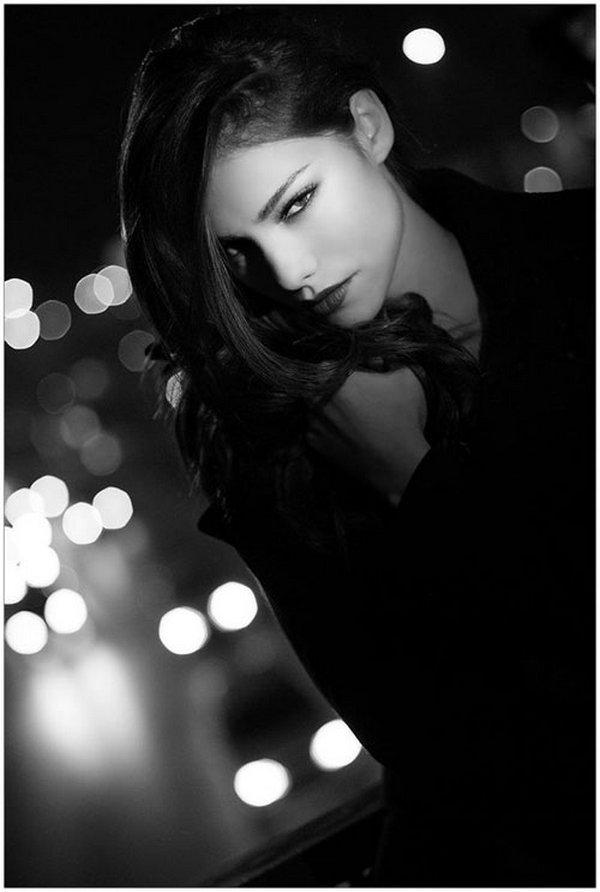 black and white 22 Black & White Beautiful Ladies
