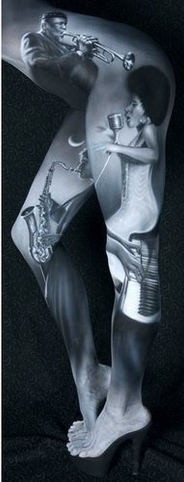 body painting art 06 Incredible Painting on Human Body