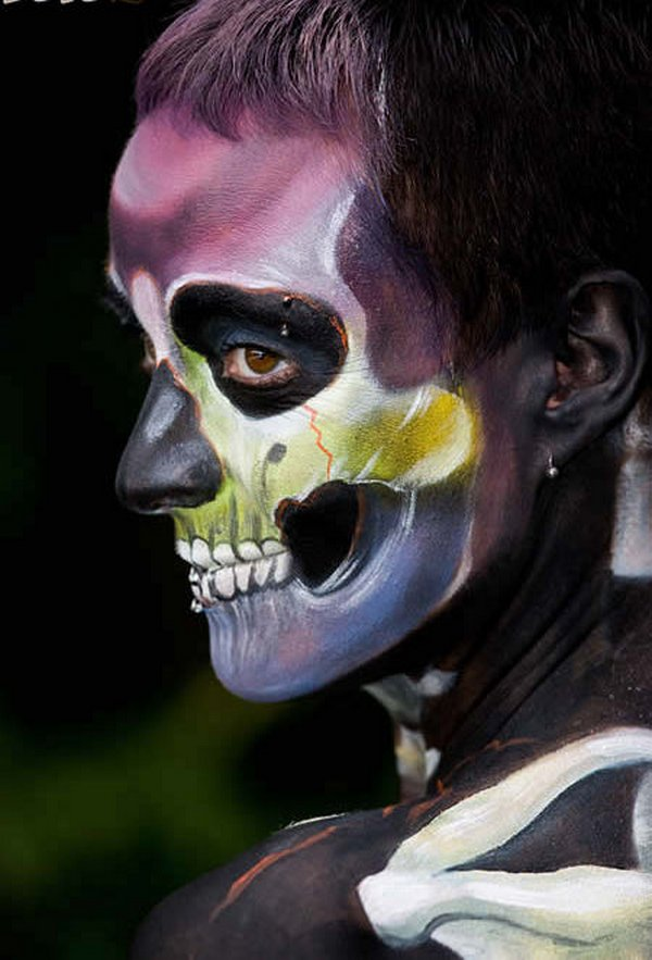 body painting art 22 Incredible Painting on Human Body