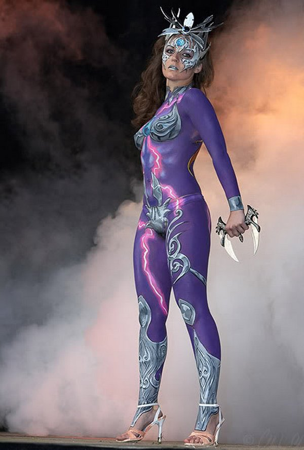 body painting art 34 Incredible Painting on Human Body