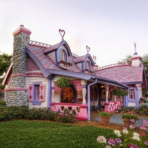fairytales houses 01 Beautiful Fairy Tales House Designs
