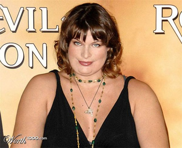 fat celebrities 09 What Would Celebrities Look Like If They Were Fat?