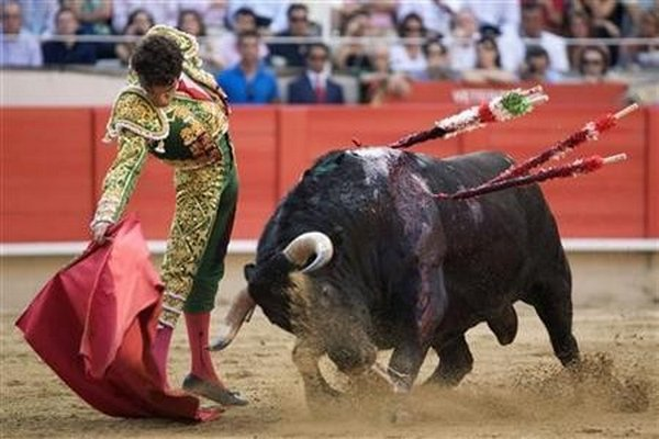 matador spain 06 Dramatic Moments When Matadors Get Gored by a Bull