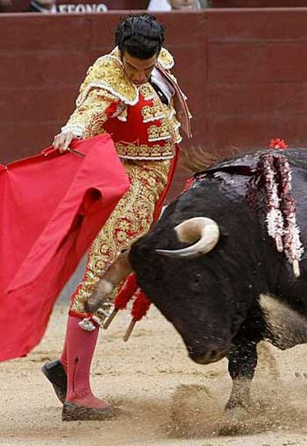 matador spain 17 Dramatic Moments When Matadors Get Gored by a Bull