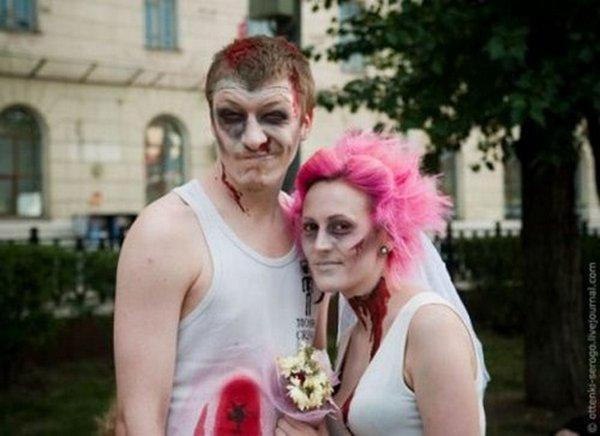zombie 01 Zombie Wedding