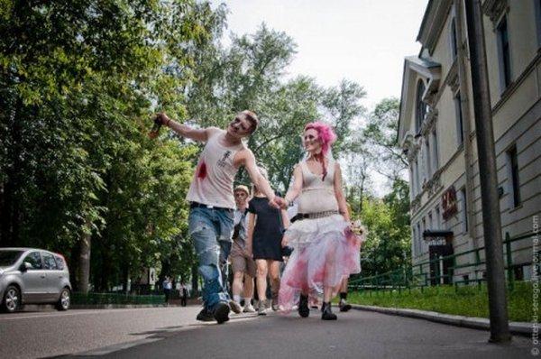 zombie 10 Zombie Wedding