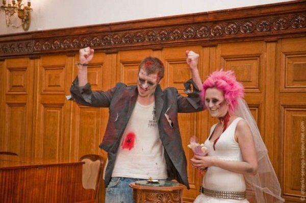 zombie 26 Zombie Wedding