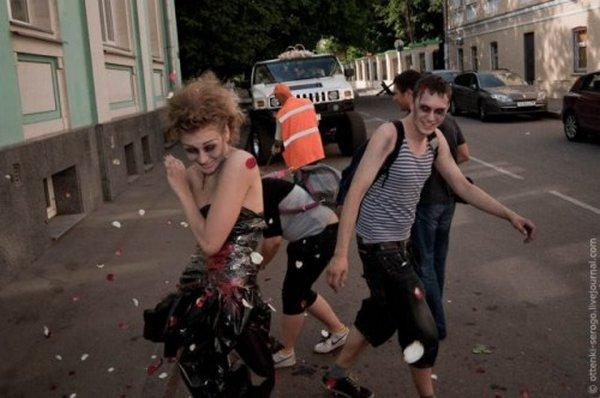 zombie 27 Zombie Wedding