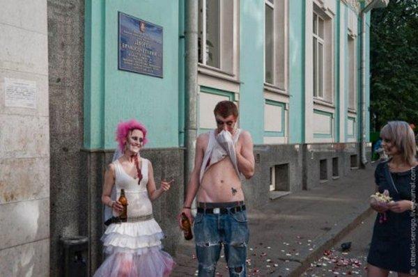 zombie 30 Zombie Wedding