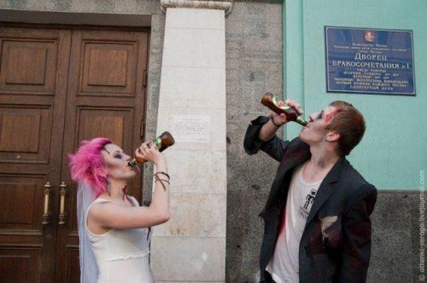 zombie 31 Zombie Wedding