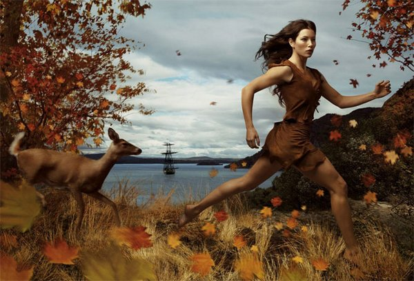 celebrities fairytales 05 Celebrity Fairy Tales by Annie Leibovitz