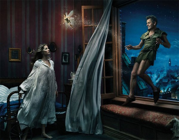 celebrities fairytales 08 Celebrity Fairy Tales by Annie Leibovitz