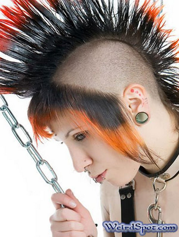 crazy hairstyles 13 30 Weird & Crazy Hairstyles Photos