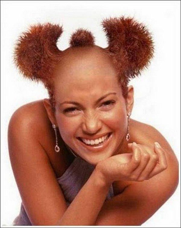 Wondrous 30 Weird Amp Crazy Hairstyles Photos Hairstyles For Men Maxibearus