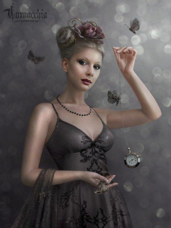 fairytale art by cornacchia 03 Grown up Fairytale Heroines by Cornacchia