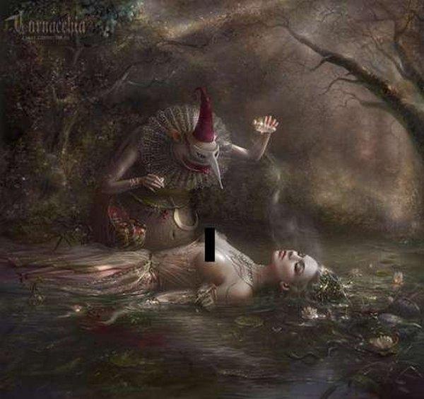 fairytale art by cornacchia 05 Grown up Fairytale Heroines by Cornacchia