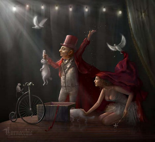fairytale art by cornacchia 06 Grown up Fairytale Heroines by Cornacchia
