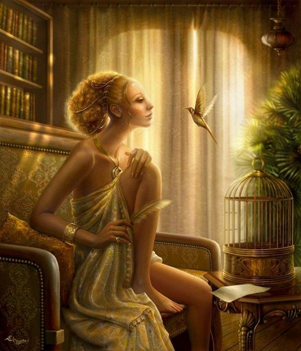 fairytale art by cornacchia 08 Grown up Fairytale Heroines by Cornacchia
