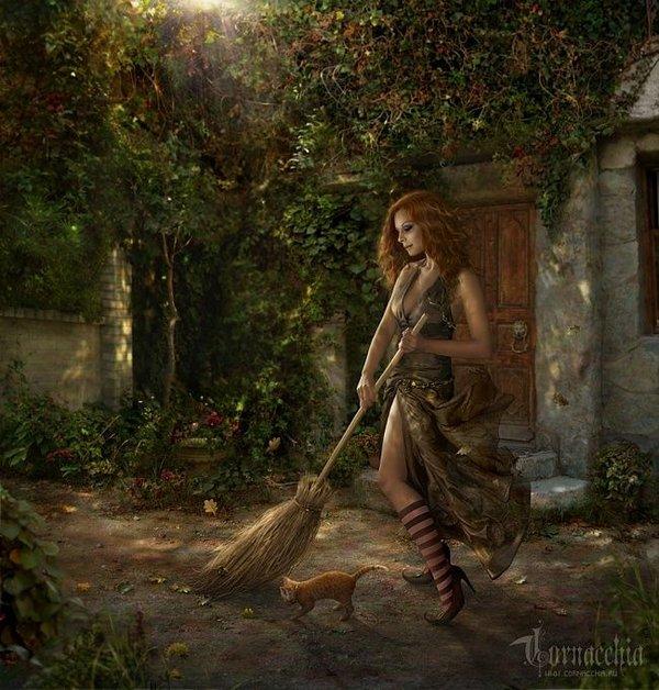 fairytale art by cornacchia 09 Grown up Fairytale Heroines by Cornacchia