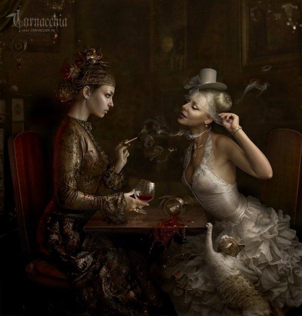 fairytale art by cornacchia 11 Grown up Fairytale Heroines by Cornacchia