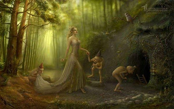 fairytale art by cornacchia 12 Grown up Fairytale Heroines by Cornacchia