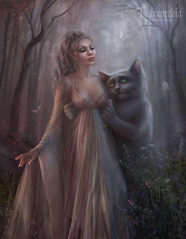 fairytale art by cornacchia 13 Grown up Fairytale Heroines by Cornacchia