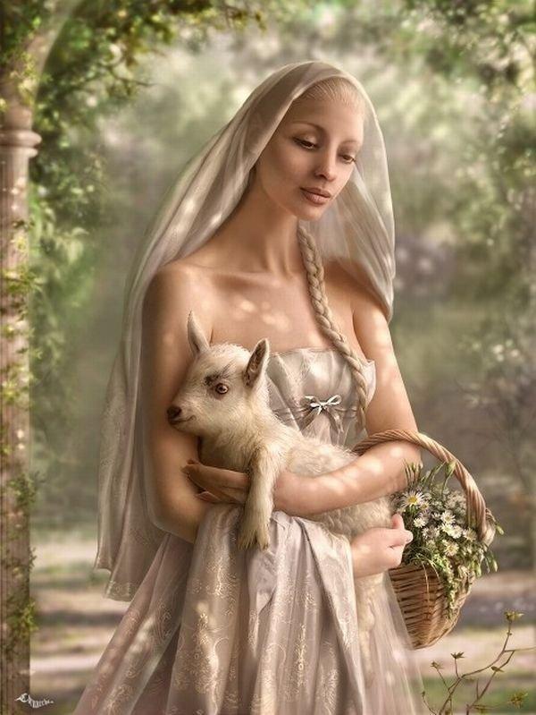 fairytale art by cornacchia 14 Grown up Fairytale Heroines by Cornacchia
