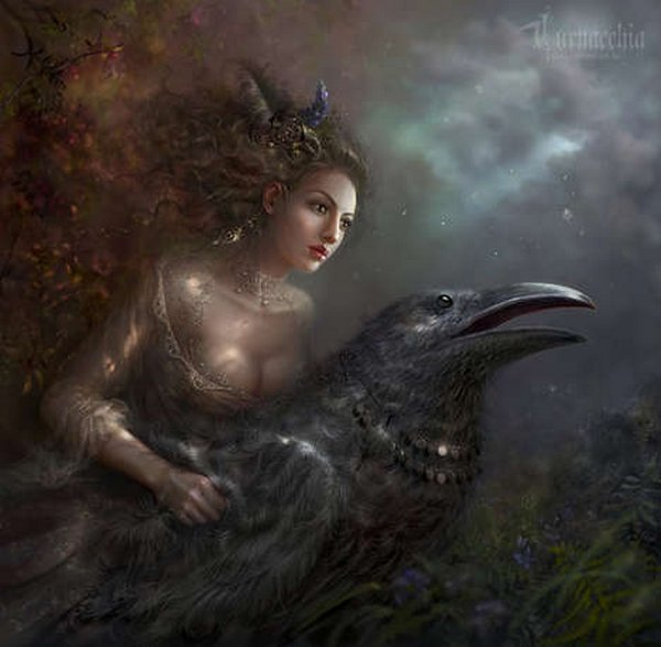 fairytale art by cornacchia 15 Grown up Fairytale Heroines by Cornacchia