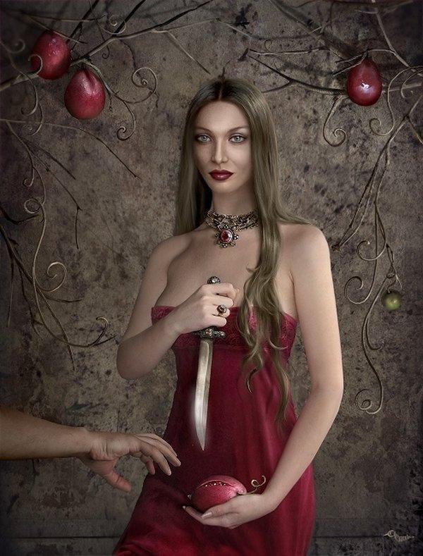fairytale art by cornacchia 16 Grown up Fairytale Heroines by Cornacchia