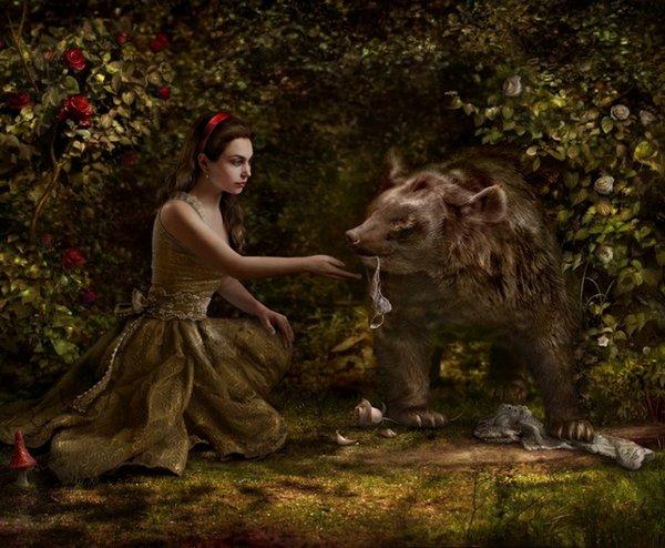 fairytale art by cornacchia 19 Grown up Fairytale Heroines by Cornacchia