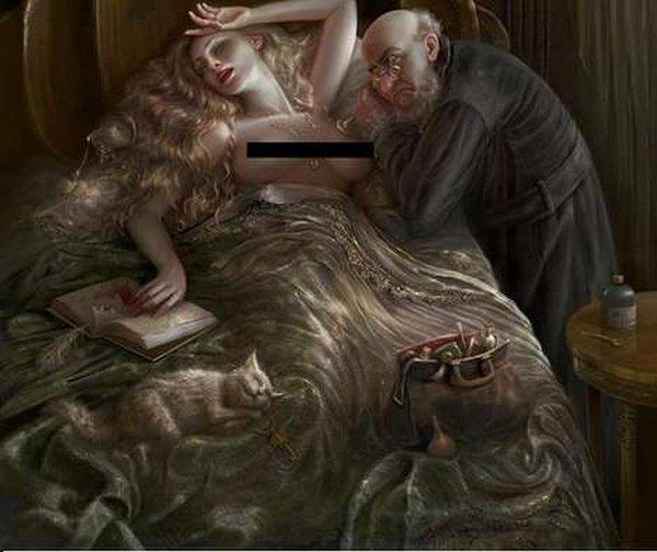 fairytale art by cornacchia 21 Grown up Fairytale Heroines by Cornacchia