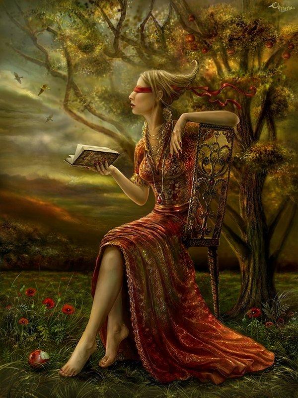 fairytale art by cornacchia 22 Grown up Fairytale Heroines by Cornacchia
