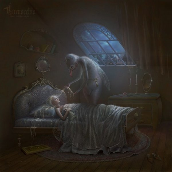 fairytale art by cornacchia 24 Grown up Fairytale Heroines by Cornacchia