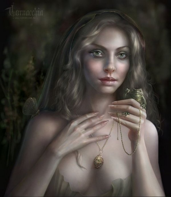 fairytale art by cornacchia 28 Grown up Fairytale Heroines by Cornacchia
