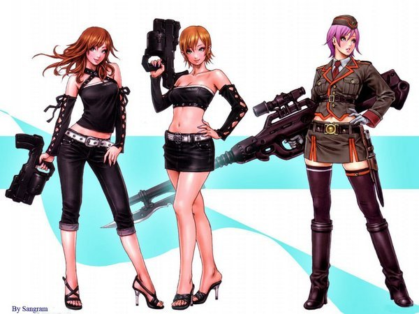 girls with gun 05 Whats It About Girls With Gun?