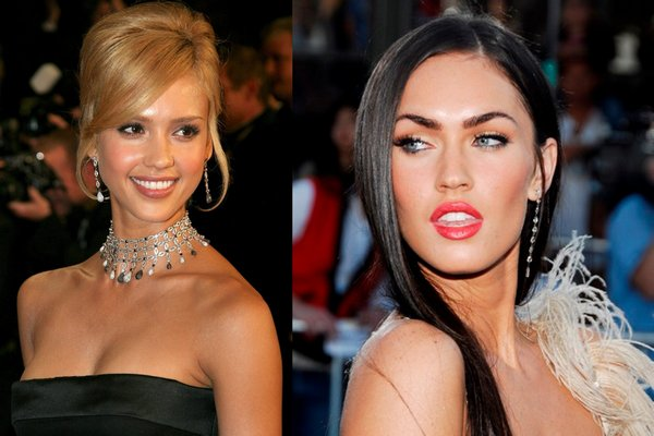 jessicaalba vs meganfox 01 Jessica Alba VS Megan Fox   Who is Nicer Girl?