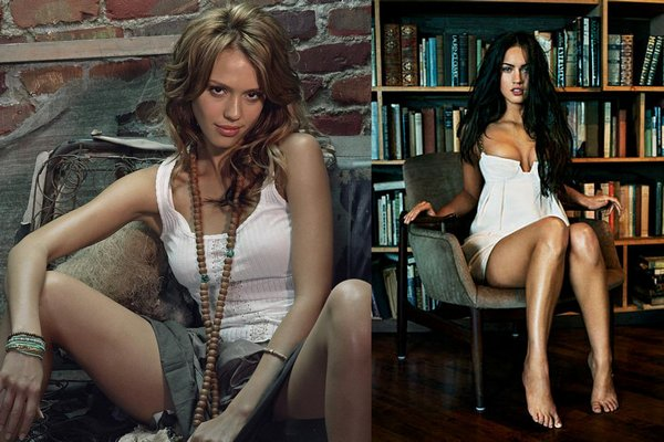jessicaalba vs meganfox 04 Jessica Alba VS Megan Fox   Who is Nicer Girl?