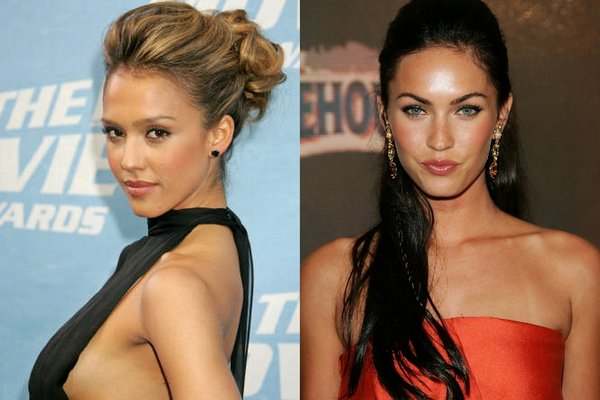 jessicaalba vs meganfox 09 Jessica Alba VS Megan Fox   Who is Nicer Girl?