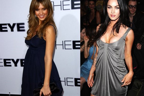 jessicaalba vs meganfox 11 Jessica Alba VS Megan Fox   Who is Nicer Girl?