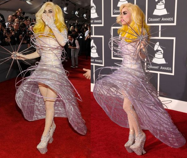 lady gaga 02 Top 20 Lady Gaga Crazy Fashion Style Photos