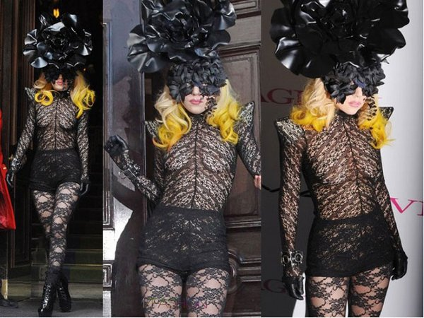 lady gaga 05 Top 20 Lady Gaga Crazy Fashion Style Photos
