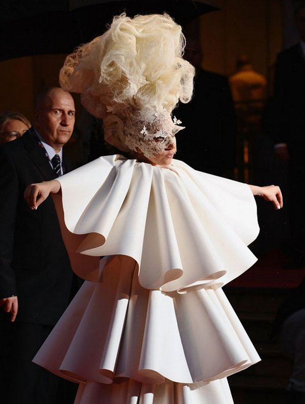 lady gaga 06 Top 20 Lady Gaga Crazy Fashion Style Photos