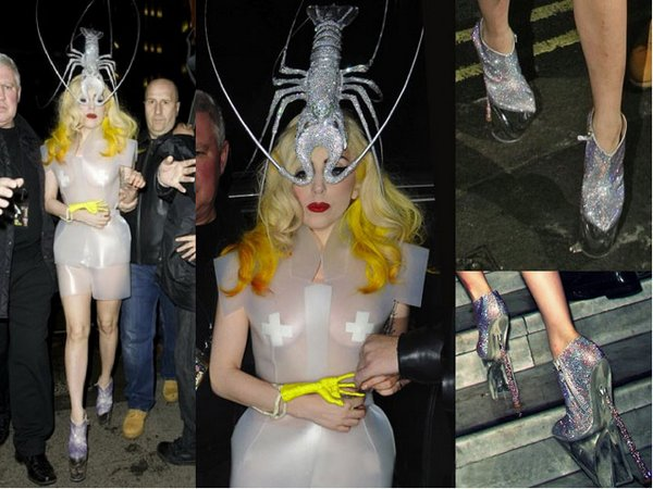 lady gaga 12 Top 20 Lady Gaga Crazy Fashion Style Photos