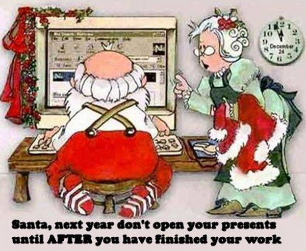 Ho-Ho-Ho Santa Claus Funny Photos
